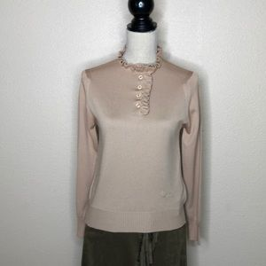 GIVENCHY Sport Knit Top Blouse
